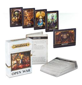 WH OPEN WAR CARDS INGLES (CARTAS AGE OF SIGMAR)