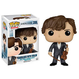 FIGURA POP SHERLOCK -SHERLOCK WITH VIOLIN 9 CM
