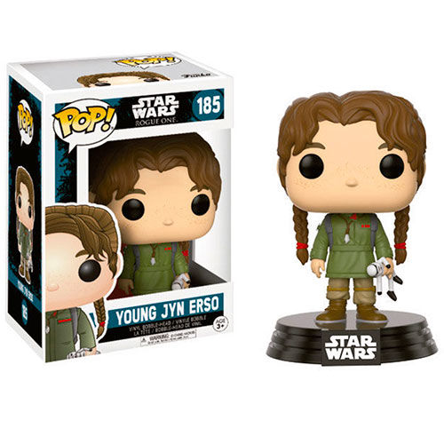 FIGURA POP STAR WARS ROGUE ONE YOUNG JYN ERSO 9 CM
