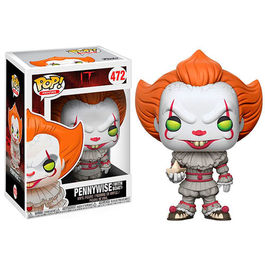 FIGURA POP STEPHEN KING IT THE MOVIE PENNYWISE WITH BOAT 9 CM