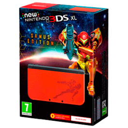 CONSOLA NEW NINTENDO 3DS XL SAMUS EDITION