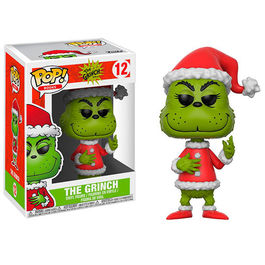 FIGURA POP THE GRINCH - THE GRINCH IN SANTA OUTFIT 9 CM