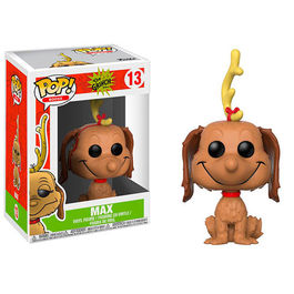 FIGURA POP THE GRINCH MAX THE DOG 9 CM