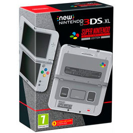 CONSOLA NEW NINTENDO 3DS XL SNES EDITION