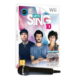 LETS SING 10 + 2 MICROFONOS Wii