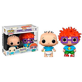 FIGURA POP RUGRATS PACK TOMMY AND CHUCKY 9 CM
