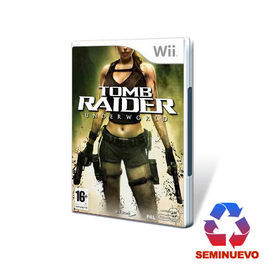 TOMB RAIDER UNDERWORLD Wii (SEMINUEVO)