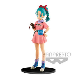 FIGURA DRAGON BALL Z SCULTURES BIG BUDOUKAI 7 BULMA 16 CM