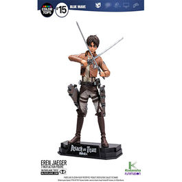 FIGURA ATTACK ON TITAN COLOR TOPS EREN JAEGER 18 CM
