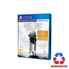 STAR WARS BATTLEFRONT ULTIMATE EDITION PS4 (SEMINUEVO)