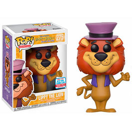 FIGURA POP HANNA BARBERA LIPPY THE LION (LEONCIO EL LEON) FALL CONVENTION 2017 EXCLUSIVE 9 CM