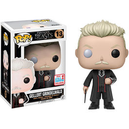 FIGURA POP ANIMALES FANTASTICOS GELLERT GRINDELWALD FALL CONVENTION 2017 EXCLUSIVE 9 CM
