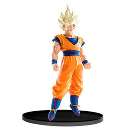 FIGURA DRAGON BALL Z SCULTURES BIG BUDAKAI SUPER SAIYAN 2 GOKU 17 CM