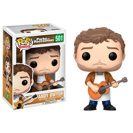 FIGURA POP PARKS AND RECREATION ANDY DWYER 9 CM