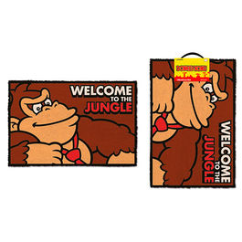 ALFOMBRA DONKEY KONG WELCOME TO THE JUNGLE 40X60 CM