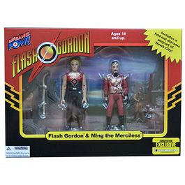 FIGURAS FLASH GORDON & MING THE MERCILESS CONVENTION EXCLUSIVE 10 CM