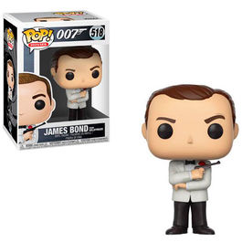 FIGURA POP JAMES BOND (GOLDFINGER) BOND SEAN CONNERY 9CM