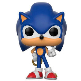 POP SONIC THE HEDGEHOG SONIC WITH RING 9 CM