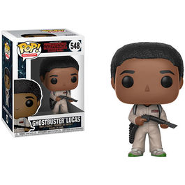 FIGURA POP STRANGER THINGS II GHOSTBUSTERS LUCAS 9 CM