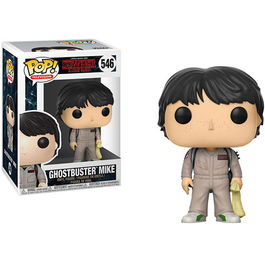 FIGURA POP STRANGER THINGS II GHOSTBUSTERS MIKE 9 CM