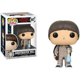 FIGURA POP STRANGER THINGS II GHOSTBUSTERS WILL 9 CM
