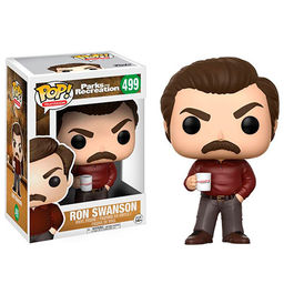 FIGURA POP PARKS AND RECREATION RON SWANSON 9 CM
