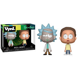 FIGURA POP RICK Y MORTY PACK RICK Y MORTY 10 CM