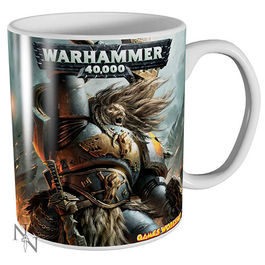 TAZA WARHAMMER 40K SPACE WOLVES CERAMICA