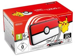 CONSOLA NEW NINTENDO 2DS XL EDICION LIMITADA POKEBALL