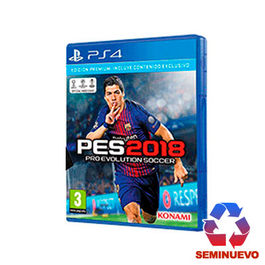 PRO EVOLUTION SOCCER 2018 PS4 (SEMINUEVO)