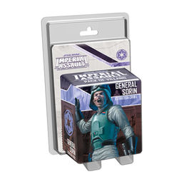 JUEGO DE MESA STAR WARS IMPERIAL ASSAULT GENERAL SORIN, ESTRATEGA CRUEL
