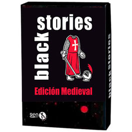 JUEGO DE CARTAS BLACK STORIES EDICION MEDIEVAL