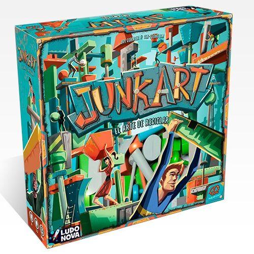 Juego De Mesa Junk Art El Arte De Reciclar