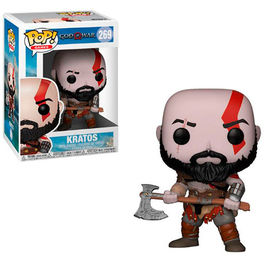 FIGURA POP GOD OF WAR KRATOS 9 CM
