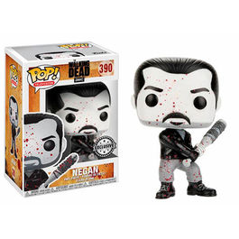 FIGURA POP WALKING DEAD BLACK & WHITE NEGAN EXCLUSIVE 9 CM