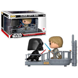 PACK FIGURAS POP MOVIE MOMENTS STAR WARS CLOUD CITY DUEL 9 CM