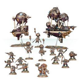 WH KHARADRON OVERLORDS SKYFLEET (CAJA BATTLEFORCE)