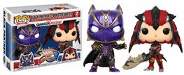 PACK FIGURAS POP MARVEL VS CAPCOM BLACK PANTHER VS MONSTER HUNTER 9 CM