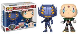 PACK FIGURAS POP MARVEL VS CAPCOM ULTRON VS SIGMA 9 CM