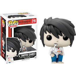 FIGURA POP DEATH NOTE L WITH CAKE 9 CM