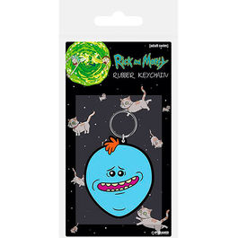 LLAVERO RICK Y MORTY MR. MEESEEKS 6 CM