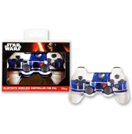MANDO DUALSHOCK INDECA STAR WARS R2-D2 WIRELESS BLUETOOTH PS3