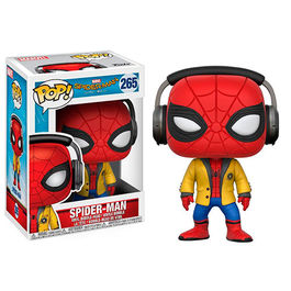 FIGURA POP SPIDER-MAN HOMECOMING SPIDER-MAN WITH HEADSET 9 CM