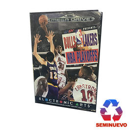 BULLS VS LAKERS AND THE NBA PLAYOFFS MEGA DRIVE (SEMINUEVO)
