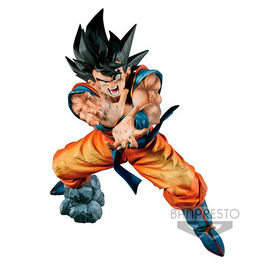 FIGURA DRAGON BALL Z SUPER KAMEHAME-HA SON GOKU PREMIUM COLOR EDITION 20 CM