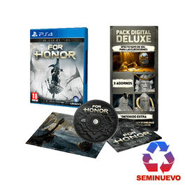 FOR HONOR DELUXE EDITION PS4 (SEMINUEVO)