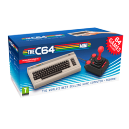 THE C64 MINI HD (COMMODORE 64)