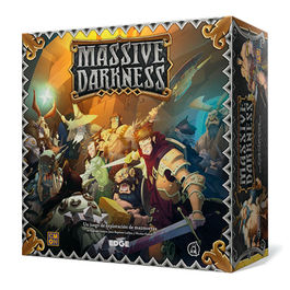 JUEGO DE MESA MASSIVE DARKNESS + KIT DE CONVERSION BLACK PLAGUE*