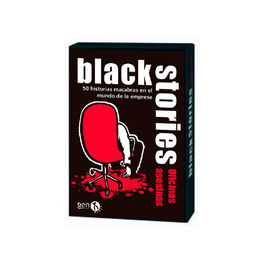 JUEGO DE CARTAS BLACK STORIES OFICINAS ASESINAS