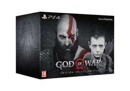 GOD OF WAR EDICION COLECCIONISTA PS4 + LLAVERO (RESERVAS)